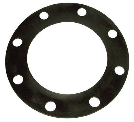 "6"" x 1/8"", 350 PSI, Neoprene, Full Face, Gasket for Flanged Joint Piping System"