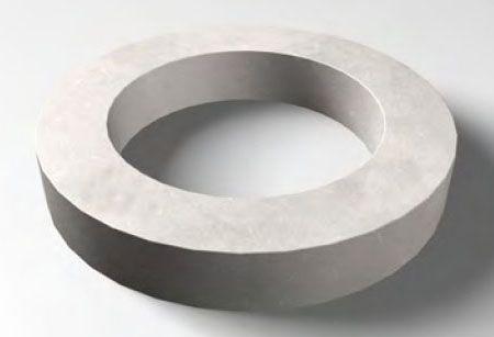 """6"""", Cast Iron, Round, Eccentric Cone Grade Ring"""