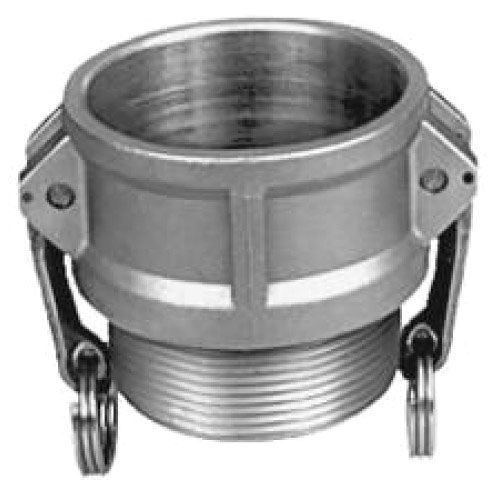 """2"""" x 2"""", MPT x Cam Lock, 250 PSI, 316 Stainless Steel, Straight, Coupler"""