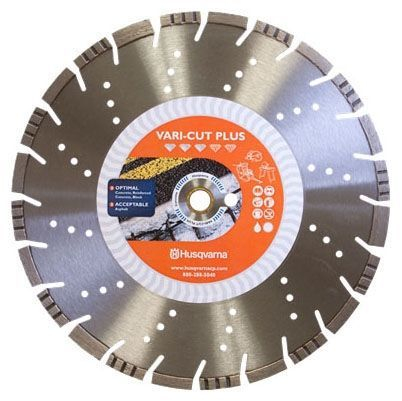 "16"" x 0.125"", General Purpose, Diamond Saw Blade for Concrete/Abrasive"