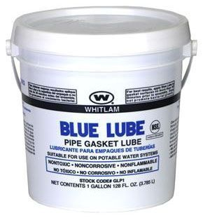 1 Quart Pail with Twist Top Lid, Blue, BLUE LUBE ™ Pipe Lubricant