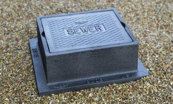 Grey Iron, Logo Sewer, Valve Box
