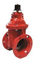 "6"", Mechanical Joint x Mechanical Joint, 250 PSI Water/200 PSI Fire Protection, Lead-Free, Grey Iron 2"" Square Open Left Operating Nut, Fusion Bonded Epoxy Coated Ductile Iron Body, Resilient Wedge, Full Water Way, Gate Valve without Accessory"