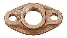 "2"", FPT, Lead-Free, Bronze, 125 PSI, Oval, Water Meter Flange"