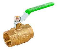 """1/2"""", FPT x FPT, 600 PSI CWP Non-Shock/150 PSI SWP, Lead-Free, Steel Lever Handle, Chrome Plated Solid Brass Ball, Forged Brass Body, 2-Piece, Full Port, Ball Valve"""