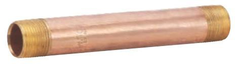"2-1/2"" x 2-1/2"" (Close), MPT x MPT, Schedule 40, Lead-Free, Brass, Close, Nipple"
