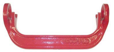 "10.73"" x 5.15"", Powder Coated Cast Iron, Standard, Yoke Bar for 5/8"" Meter Box"