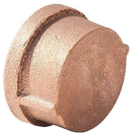 """3"""", FPT, Class 125, Lead-Free, Red Brass, Import, Cap"""