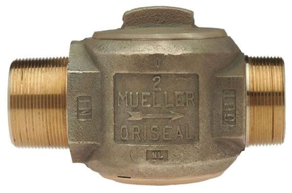 "3/4"" Ball Corporation Stop - CC x MIP, 300 PSI, Brass, Lead-Free, Straight"