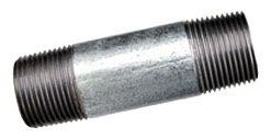 """2"""" x 6"""", MPT x MPT, Galvanized, Welded Steel, Domestic, Nipple"""