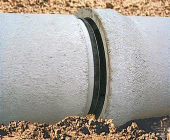 "15"" x 8', Gasketed, Class III, Reinforced Concrete Pipe"