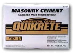 70 Lb Bag, Grey to Grey Brown, Type S, Masonry Cement