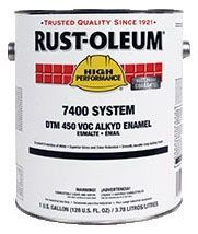 1 Gallon, Lead-Free, High Gloss White, Alkyd, Corrosion, Rust Preventive Enamel