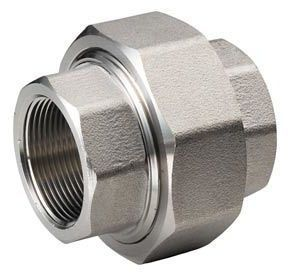 "2"" x 2"", FPT x FPT, 290 PSI, 304 Stainless Steel, Straight, Union"