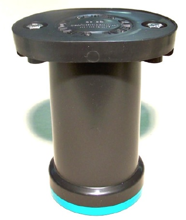 "4"", SDR 35, Injection Molded, Plastic, Lateral, Cleanout with Cast Iron Lid"