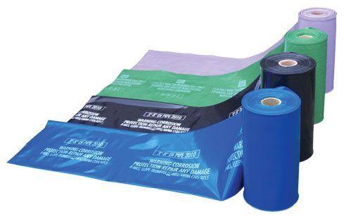 "27"" x 300' x 8 Mil, Blue, Polyethylene, Continuous, Polywrap"