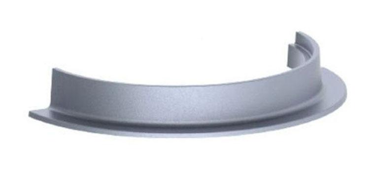 """29-1/2"""" x 4"""", Grey, Cast Iron, Round, Reversible, Manhole Ring"""