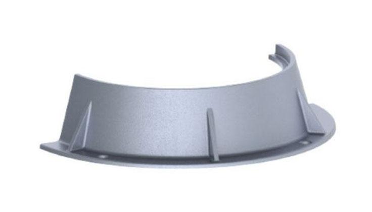 "33-1/4"" x 7-1/2"", Grey, Cast Iron, Round, Manhole Ring"