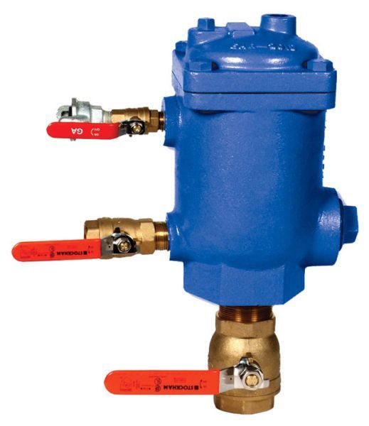 """2"""" NPT Inlet, Cast Iron, Automatic, Air Release Valve"""
