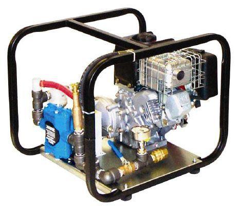 "3/4"" x 3/4"", NPT x NPT, 10' Discharge Head, 400 PSI, 10 GPM, 600 RPM, Twin Piston, Hydrostatic Test Pump"