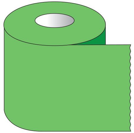"""SHA ST103 1"""" x 500"""", 1"""" Core, Green, Removable Adhesive, Color Coded, Multi-Purpose Labeling Tape"""