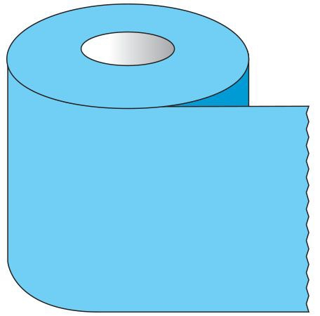 """SHA ST106 1"""" x 500"""", 1"""" Core, Blue, Removable Adhesive, Color Coded, Multi-Purpose Labeling Tape"""