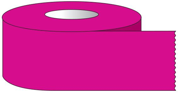 """SHA ST1220 1/2"""" x 500"""", 1"""" Core, Magenta, Removable Adhesive, Color Coded, Multi-Purpose Labeling Tape"""