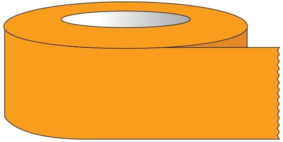 "SHA ST12028 1/2"" x 60 YD, 3"" Core, Fluorescent Orange, Removable Adhesive, Color Coded, Multi-Purpose Labeling Tape"