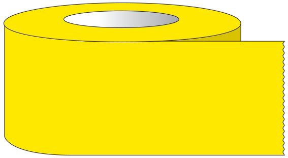 """SHA ST3402 3/4"""" x 60 YD, 3"""" Core, Yellow, Removable Adhesive, Color Coded, Multi-Purpose Labeling Tape"""