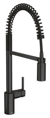 Kitchen Faucet with Single Handle - Align, Matte Black, 1.5 GPM