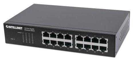 Ic 16 Port Gigabit RM/Desktop Switch
