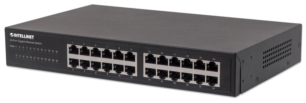 Ic 24 Port Gigabit RM/Desktop Switch