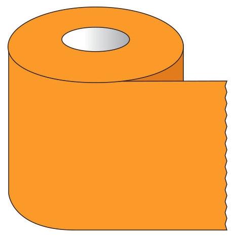 "SHA ST105 1"" x 500"", 1"" Core, Orange, Removable Adhesive, Color Coded, Multi-Purpose Labeling Tape"