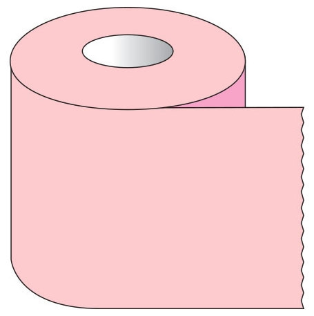"""SHA ST117 1-1/2"""" x 500"""", 1"""" Core, Pink, Removable Adhesive, Color Coded, Multi-Purpose Labeling Tape"""