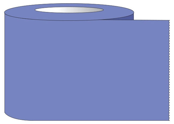 """SHA ST11013 1-1/2"""" x 60 YD, 3"""" Core, Lavender, Removable Adhesive, Color Coded, Multi-Purpose Labeling Tape"""
