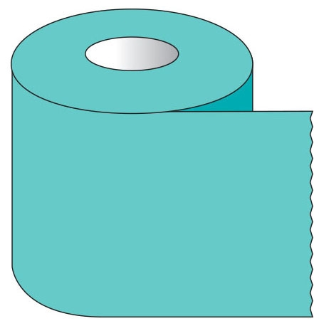 "SHA ST2016 2"" x 500"", 1"" Core, Aqua, Removable Adhesive, Color Coded, Multi-Purpose Labeling Tape"
