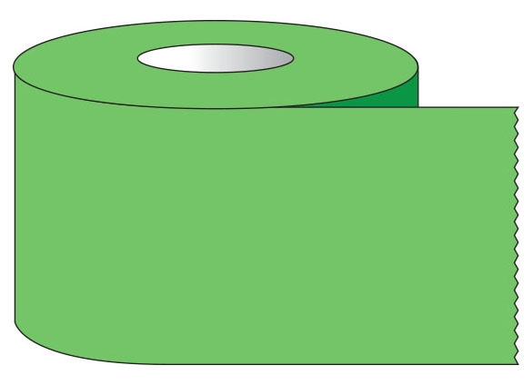 """SHA ST343 3/4"""" x 500"""", 1"""" Core, Green, Removable Adhesive, Color Coded, Multi-Purpose Labeling Tape"""