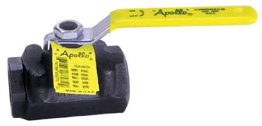 73A-103-01A 1/2 APOLLO 2-PC CARBON STEEL IP BALL VALVE 2000# WOG STD PORT MODEL #: 73A10301A