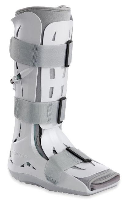 DJO 01FL Large, 10 to 13 Men/11 to 15 Women Shoe, Lightweight, Trimmable, Semi-Rigid Shell, Foam Pneumatic Walker with Hand Bulb