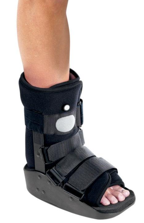 DJO 7995427 Large, 10.5 to 13.5 Men/11.5 to 14.5 Women Shoe, Air Ankle Walker