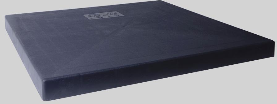 """24"""" x 24"""" x 3"""" Equipment Pad Black Pearl"""