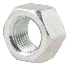 "5/8""-11 TPI, UNC-2B, Zinc Plated, Grade 5 Steel, Hex Nut"
