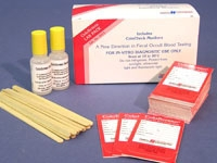 HEL 5072 ColoScreen Occult Blood Test Kit with Single Slide