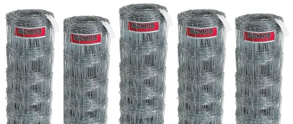 "32"" x 330', 12.5 Gauge Vertical and Horizontal Wire, Electrogalvanized Steel, Hog Wire (9 per Skid)"
