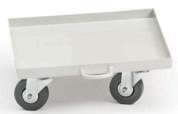 "MKL ML2439 13.25"" x 13.25"" x 5"", Single, Cubitainer Cart"