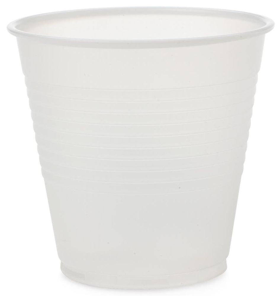 MDL NON03005 5 Oz, Latex-Free, Translucent, Polystyrene, Disposable, Drinking Cup (2500 per Case)