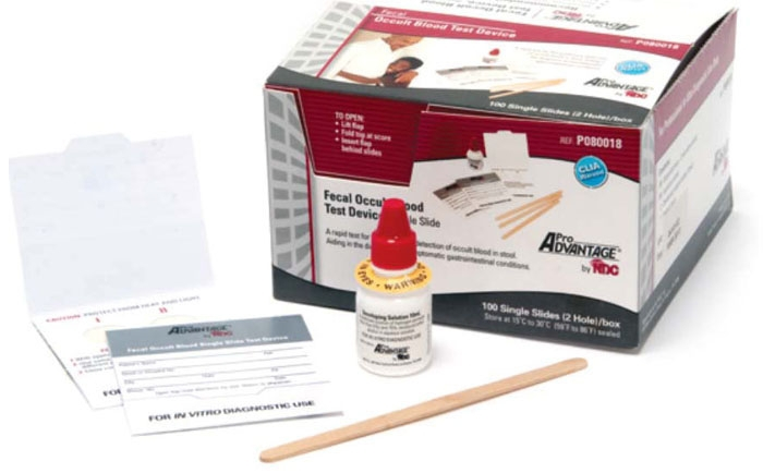 PRA P080018 Fecal Occult Test Kit (100 per Box)