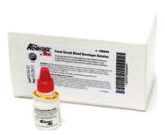 PRA P080028 (8) 10 ML, Fecal Occult, Rapid, Convenient, Light Brown/Beige Blood Developer Solution (100 per Box, 1000 per Case)
