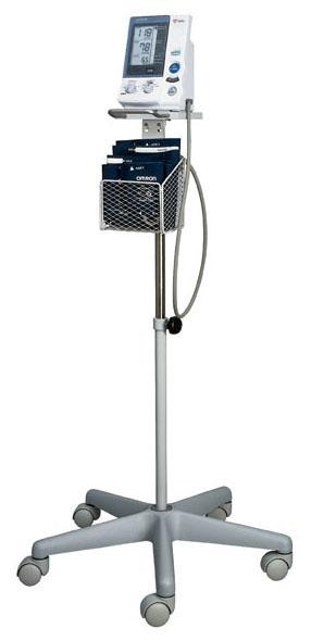 FIS NC9021765 5-Leg, Floor Stand for HEM-907XL Professional Blood Pressure Monitor