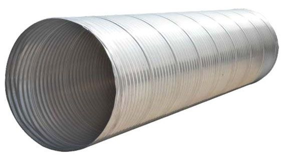 "36"", Belled x Spigot, Corrugated Aluminum, Pipe"